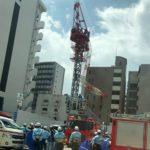 名古屋市中区栄クレーン事故で死亡【事故現場の画像とコメント、事故原因の紹介】