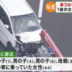 湖西道路で死亡事故!?【玉突き事故により1歳の女の子含む5人が被害に、詳しい事故原因は?】